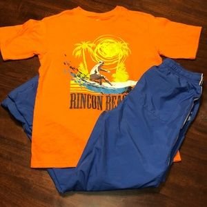 Boys Outfit Wonder Nation T-shirt & OshKosh Pants